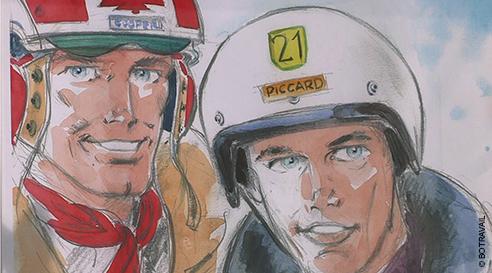 Bertrand Piccard, la trajectoire et l'altitude