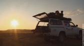 Sur la piste des lions du Namib...