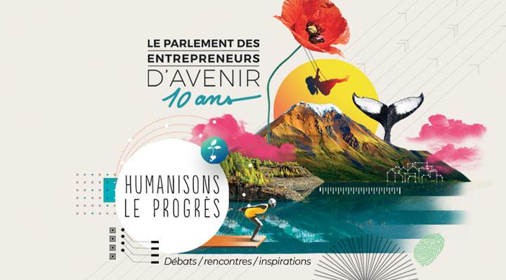 10 ans du Parlement des Entrepreneurs d'Avenir