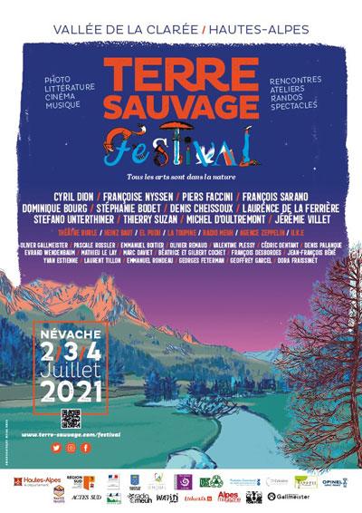 Affiche Terre Sauvage Festival
