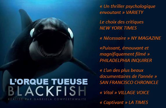 L'orque tueuse (Blackfish)