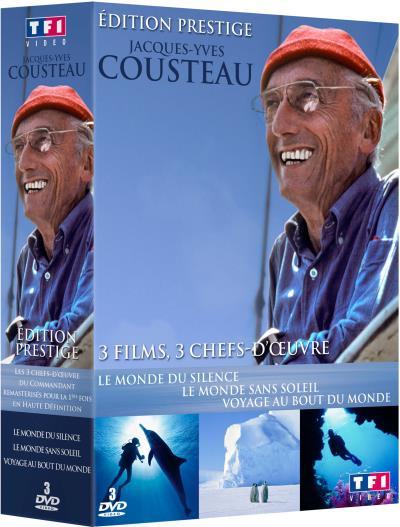 Coffret Cousteau TF1 Vidéo