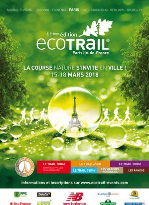 Eco trail Paris 2018