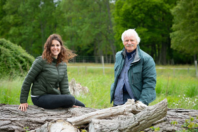 En Terre ferme avec Yann Arthus Bertrand (c) C. Chevalin - Ushuaïa TV