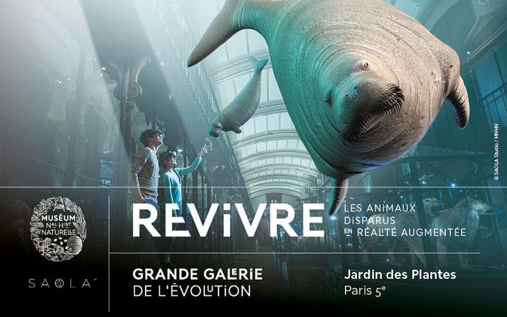 Exposition ReVivre au Museum
