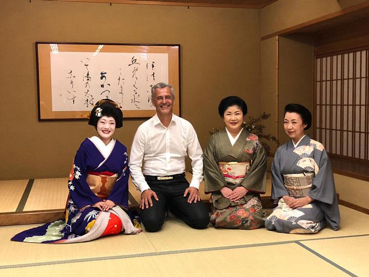 Sur la piste des senteurs - Japon