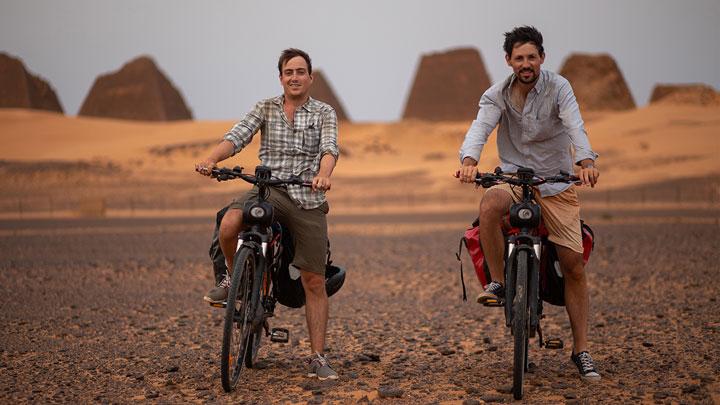 le Sahara en solex (c) Matthieu Tordeur