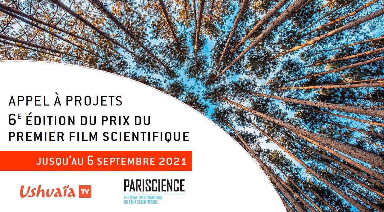 Appel à projets - Prix Pariscience/Ushuaïa TV 2021