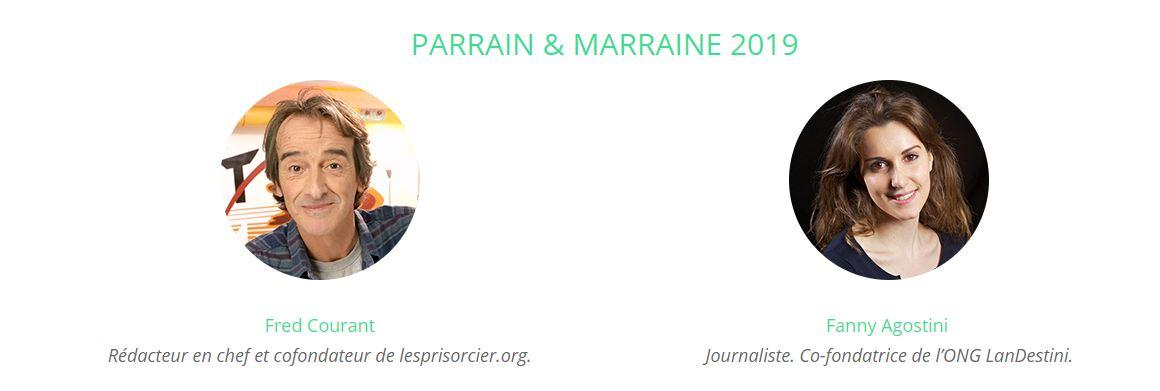Parrain et Marraine du 16ème forum météo et climat