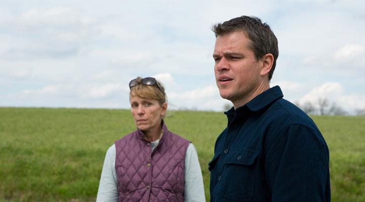 Promised Land avec Matt Damon